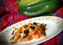 Light Enchilada Casserole Recipe