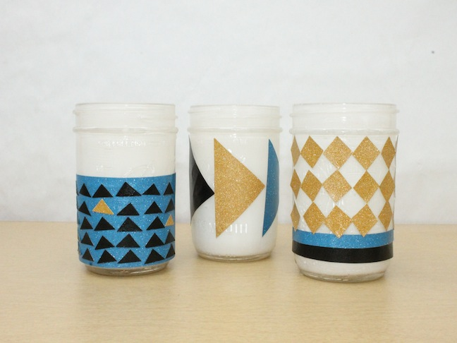DIY: Easy Mod Podge Organizational Jar Craft; Momtastic.com; Kelly Ladd Sanchez