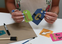 DIY: Personalized Luggage Tags