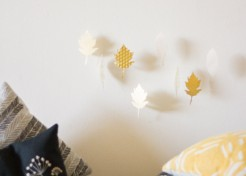 DIY Falling Leaves Mobile