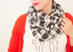 DIY Easy to Sew Infinity Scarf
