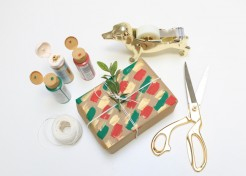 How To Turn Grocery Bags Into Gift Wrap