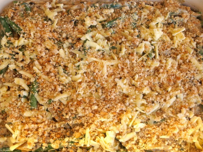 Hidden Valley Original Ranch Green Bean Caramelized Onion Casserole Recipe - Momtastic