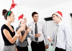 How to Survive (& Even Enjoy) Your Spouse's Holiday Work Party