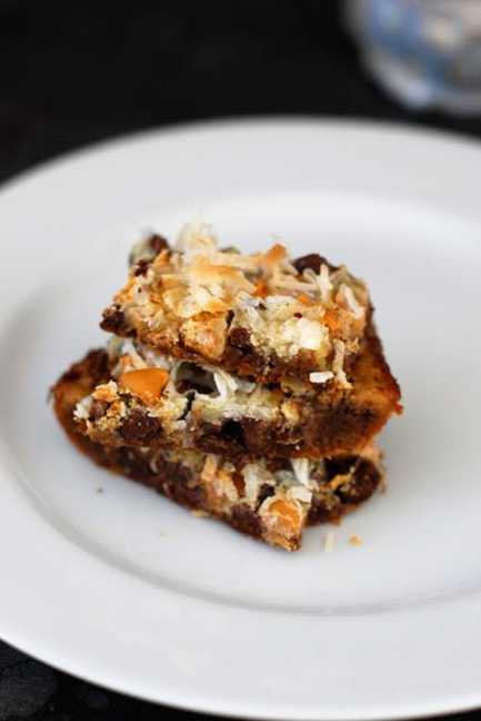 classic 7 layer bars recipe easy