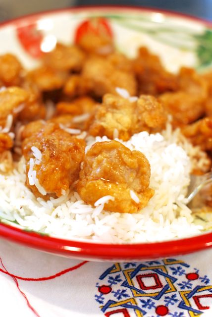 Orange Chicken at Home