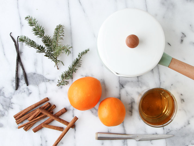 Supplies for Scented Stovetop DIY