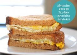 A Tex Mex Breakfast Sandwich Recipe