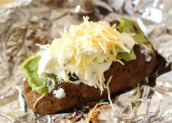 Loaded Tex Mex Baked Potatoes Recipe