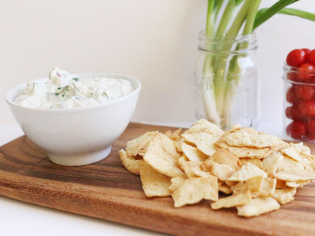 Creamy Fresh Spinach Ranch Dip