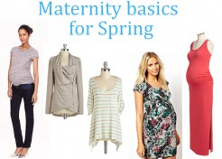 Maternity Wardrobe Basics For Spring: Don't Leave Home Without These 5 Staples!