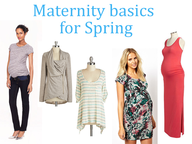maternity basics for spring