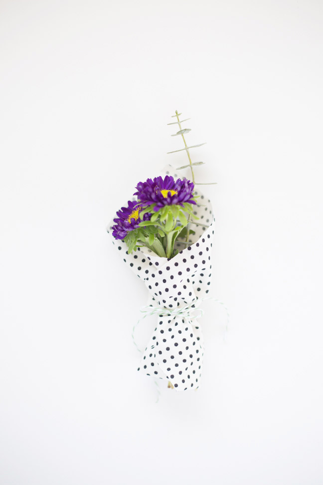 purple-flowers-polka-dot-fabric-mini-bouquet