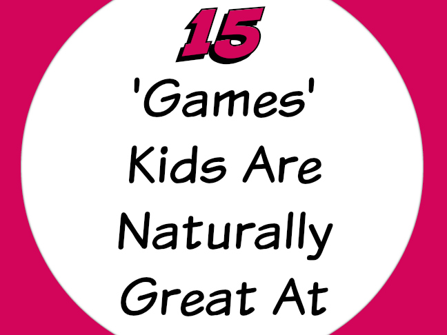 15 Games My Kids Are Naturally Great At on Momtastic by Kim Bongiorno | funny stuff for moms | parenting humor