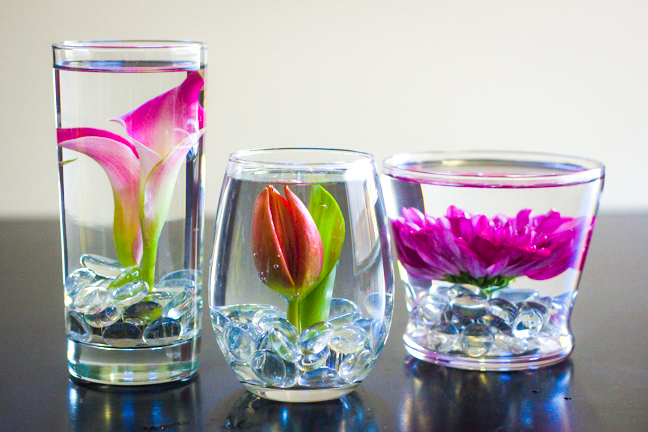 Diy submerged flower arrangements