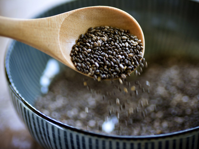 chia-seeds-raw-blue-bowl-wood-spoon