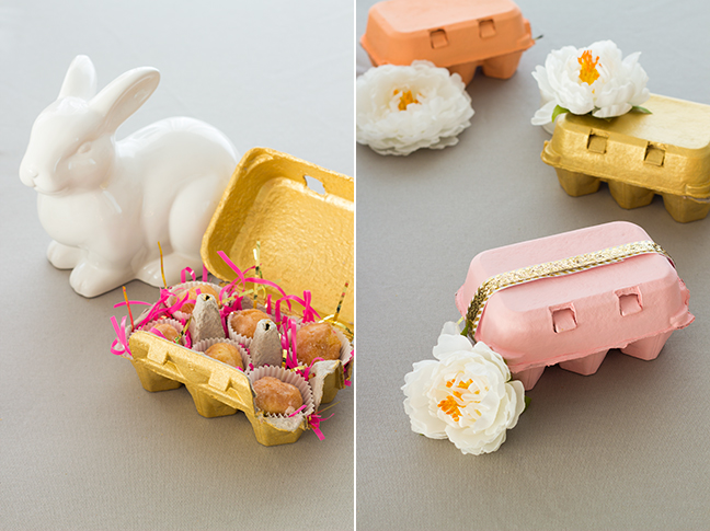 DIY Spring Giftable Baked Bites Boxes by @splendidsupply for Momtastic.