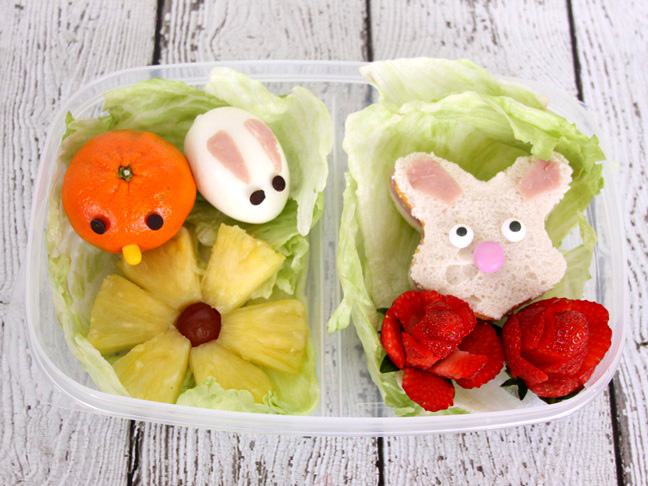 easter spring bento lunch box idea final 5