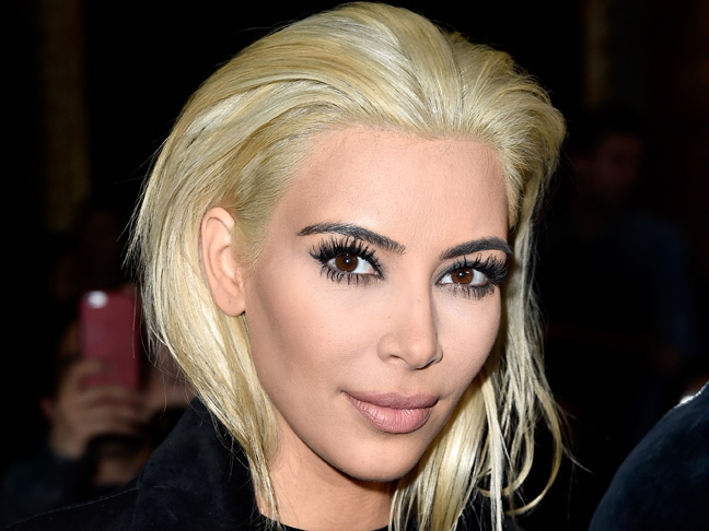 Kim Kardashian Goes Platinum Blonde! Are You a Hater, or Do You Love it?