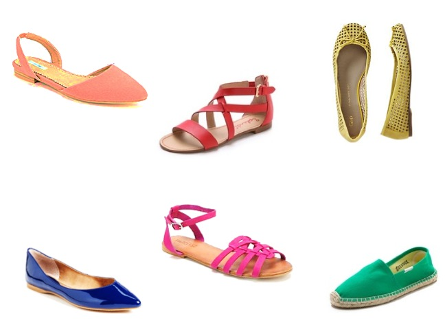 mum style how to-bright coloured shoes