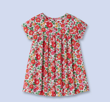 sweet floral print dress Liberty of London