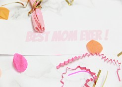 DIY Surprise Confetti-Filled Balloons for Mother's Day