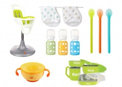 Bright & Stylish Baby Feeding Essentials (Plus the 4 First Foods My Son Loved Most!)