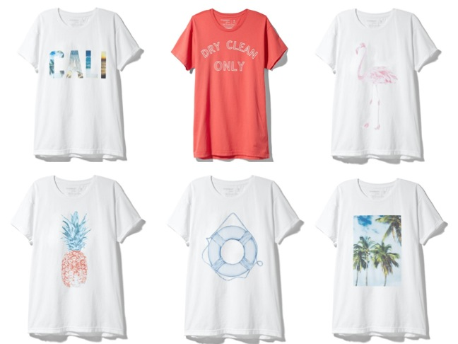 Sincerely Jules x Piperlime Chic Spring Graphic Tees