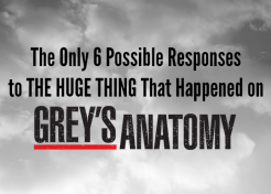 Facebook Chatter from Last Night's 'Grey's Anatomy' Shocker