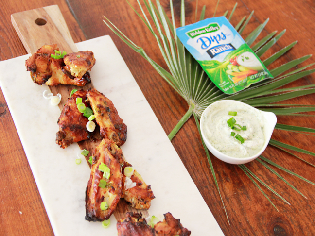 Jalapeño & Ranch Marinated Grilled Chicken Wings Recipe