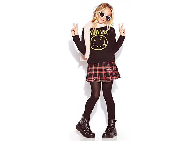 nirvana t shirt for kids