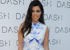 PIC: Kourtney Kardashian Shows Off Reign's Sweet Face