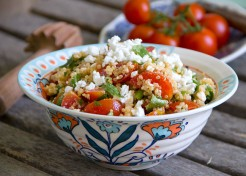 Meatless Monday: Quinoa Tomato Feta Salad Recipe
