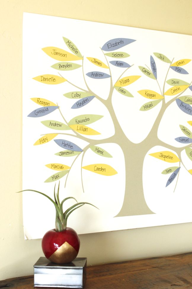 teacher-gift-classroom-art-paper-leaves-tree-apple-DIY