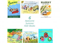 Six Young Children's Books for Summer Fun