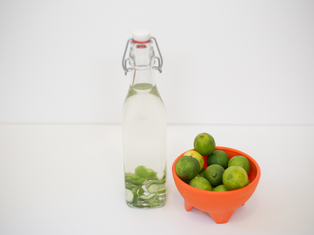 lime-infused-gin-limes