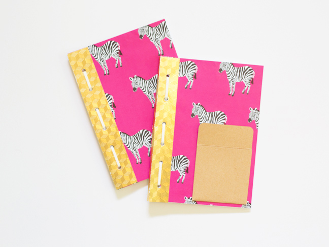 pink-zebra-travel-journals-gold-binding