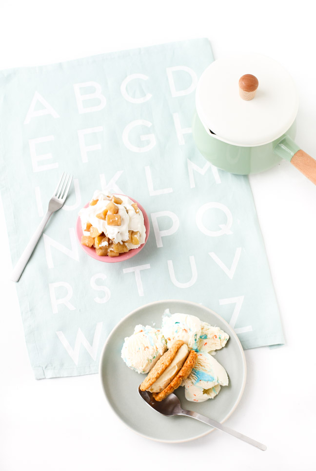 DIY Alphabet Tea Towel