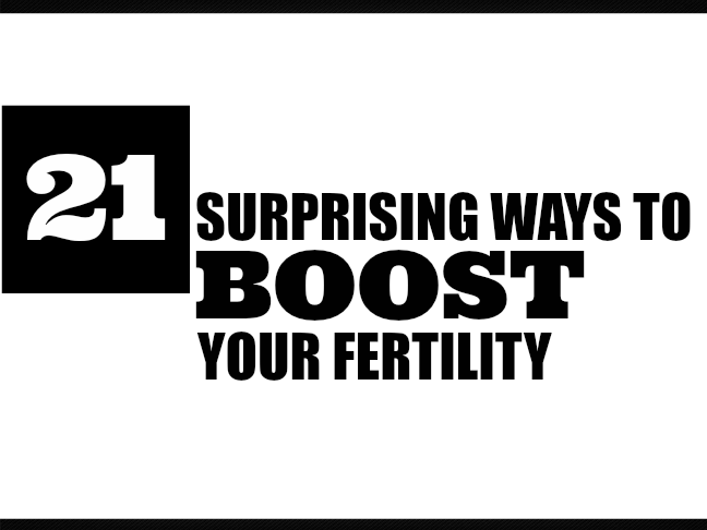 21 Surprising Ways to Boost Your Fertility on @ItsMomtastic by @letmestart | TTC | how to get pregnant | how long does it take to conceive | pregnancy | women's health