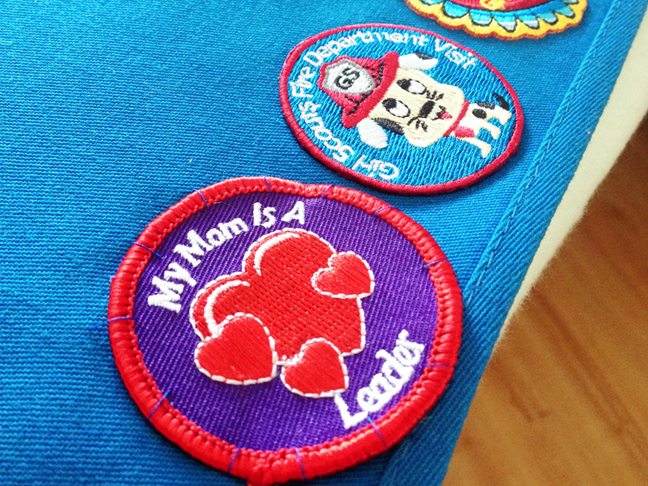 Crunch Girl Scout Patches