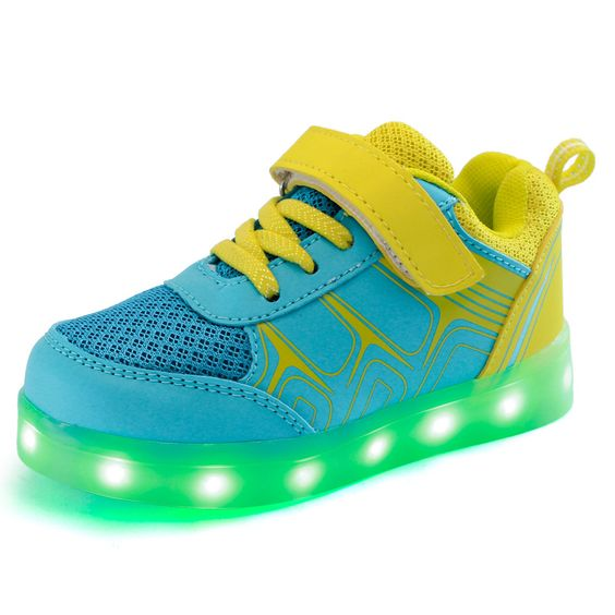 kid-led-colorful-shoes