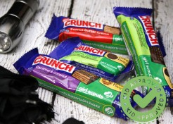 Camp Memories and Snack Ideas: Nestlé Crunch Girl Scout™ Candy Bars