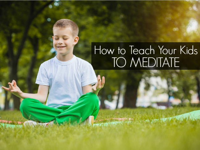 How to teach your kids to meditate will make you LOL while showing you the steps to hopefully make them more zen on @ItsMomtastic by @letmestart
