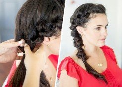 Morning Hair Hack: 2-Minute Twisted Braid Tutorial