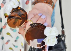 Lounge in Style: DIY Floral Sunnies