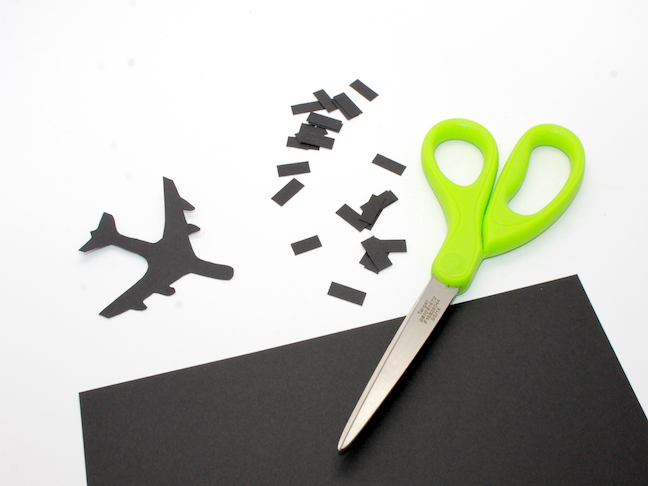 DIY Travel Journal paper airplane