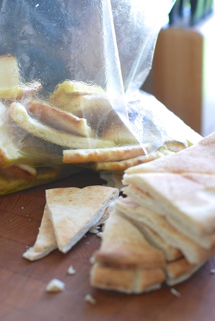 Pita Chips in a Bag