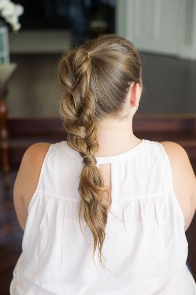 How to spice up your pony tail