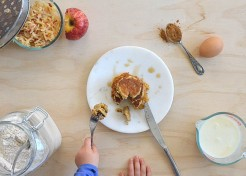 Simplify Your Mornings: 1-Cup Apple Pancakes Recipe