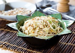 Seeded Asian Cabbage Slaw Recipe